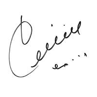 Celine Dion Autograph