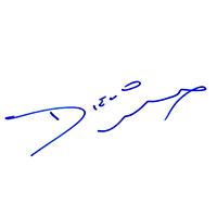 Diego Luna Autograph