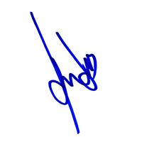 Harrison Ford Autograph