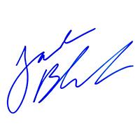 Jack Black Autograph