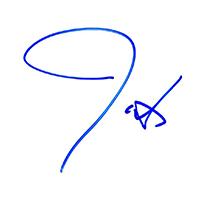 Justin Timberlake Autograph