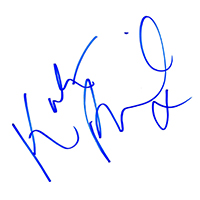 Kate Beckinsale Autograph