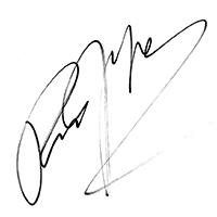Richard Gere Autograph