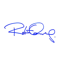 Robert Downey Jr. Autograph