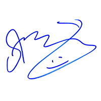 Sting of The Police Autograph