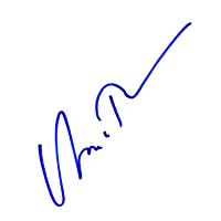 Uma Thurman Autograph