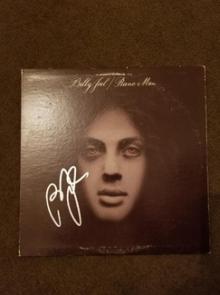 Authentic Billy Joel  Autograph Exemplar