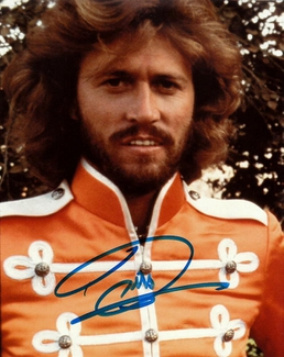 Authentic Barry Gibb  Autograph Exemplar