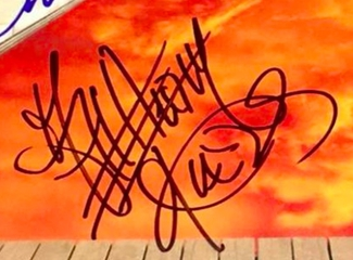 Authentic Anthony Kiedis  Autograph Exemplar