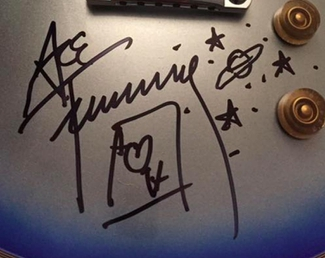 Authentic Ace Frehley  Autograph Exemplar