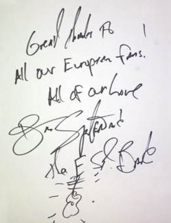 Authentic Bruce Springsteen  Autograph Exemplar