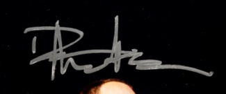 Authentic Dave Matthews  Autograph Exemplar