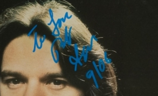 Authentic Bob Seger  Autograph Exemplar