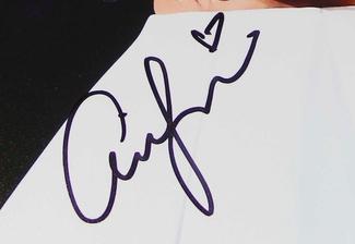 Authentic Ariana Grande  Autograph Exemplar