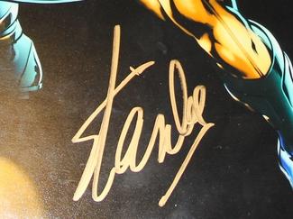 Authentic Stan Lee  Autograph Exemplar