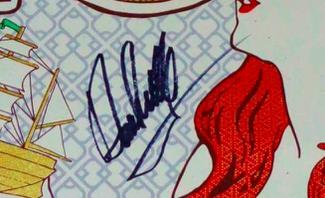 Authentic David Crosby  Autograph Exemplar