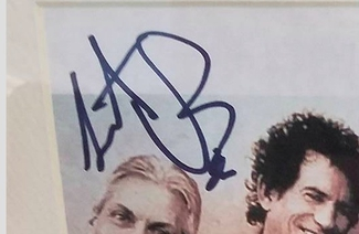 Authentic Charlie Watts  Autograph Exemplar