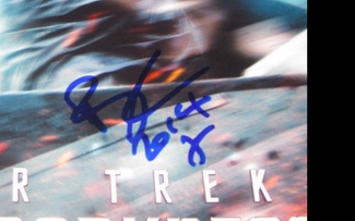 Authentic Benedict Cumberbatch  Autograph Exemplar