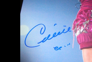 Authentic Celine Dion  Autograph Exemplar