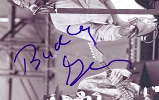 Authentic Buddy Guy  Autograph Exemplar