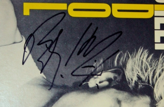 Authentic Billy Idol  Autograph Exemplar