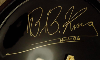 Authentic B.B. King  Autograph Exemplar
