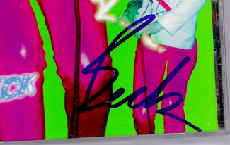 Authentic Beck  Autograph Exemplar