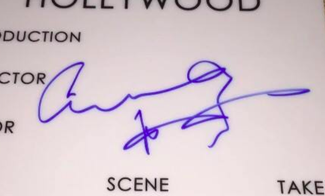 Authentic Anthony Hopkins  Autograph Exemplar