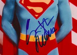 Authentic Christopher Reeve  Autograph Exemplar
