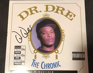 Authentic Dr. Dre  Autograph Exemplar
