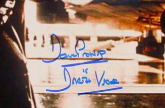 Authentic David Prowse  Autograph Exemplar
