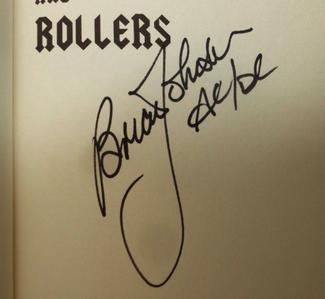 Authentic Brian Johnson  Autograph Exemplar