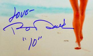 Authentic Bo Derek  Autograph Exemplar