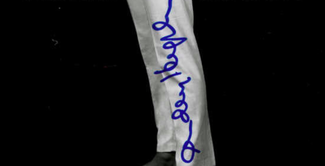 Authentic Audrey Hepburn  Autograph Exemplar