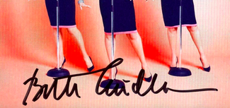 Authentic Bette Midler  Autograph Exemplar