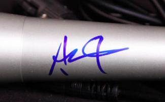 Authentic Ashton Kutcher  Autograph Exemplar