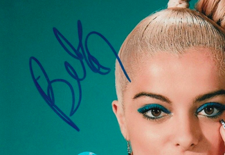 Authentic Bebe Rexha  Autograph Exemplar