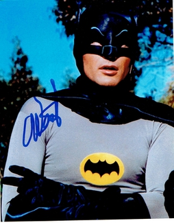 Authentic Adam West  Autograph Exemplar
