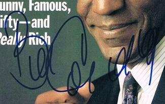 Authentic Bill Cosby  Autograph Exemplar