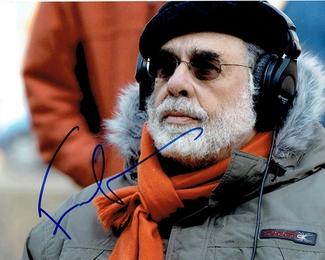 Authentic Francis Ford Coppola  Autograph Exemplar