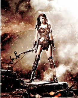 Authentic Gal Gadot  Autograph Exemplar