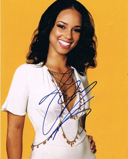 Authentic Alicia Keys  Autograph Exemplar