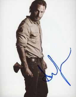 Authentic Andrew Lincoln  Autograph Exemplar